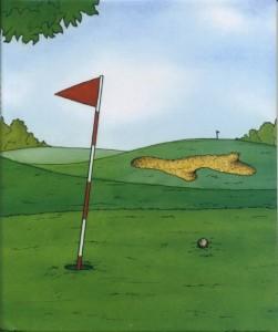 ゴルフの本表紙