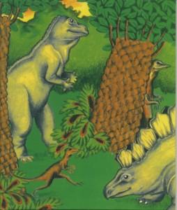 恐竜の国での冒険表紙